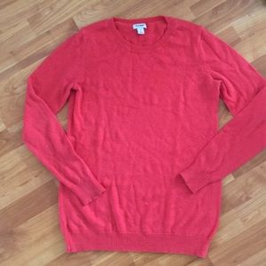 Old Navy pink crew neck sweater